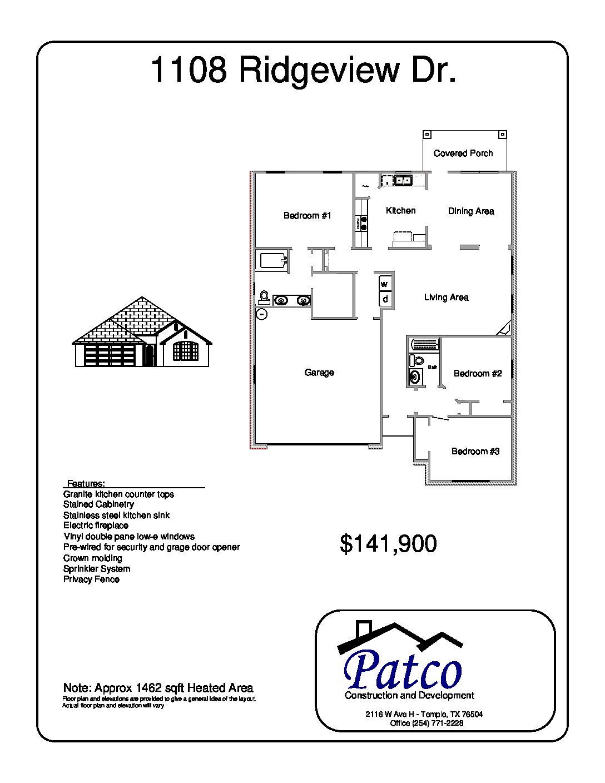 1108 Ridgeview Temple, Tx 76502